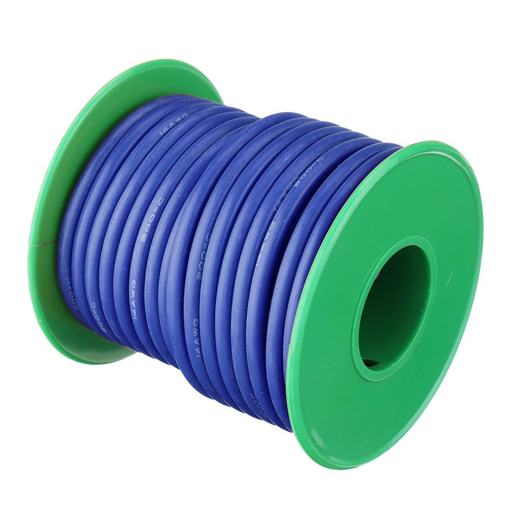connector-cable-wire 10M 14AWG Soft Silicone Wire Cable High Temperature Tinned Copper Line RC1413927 8