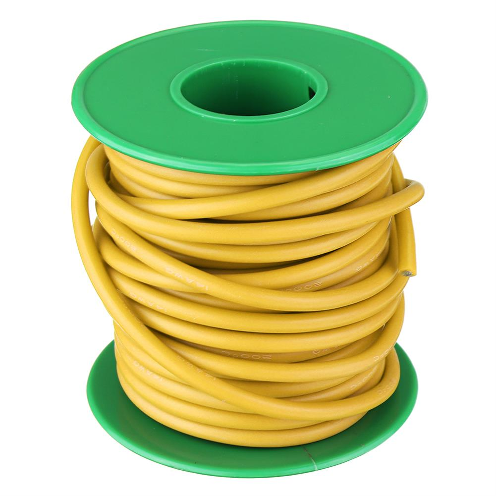 connector-cable-wire 10M 14AWG Soft Silicone Wire Cable High Temperature Tinned Copper Line RC1413927 9