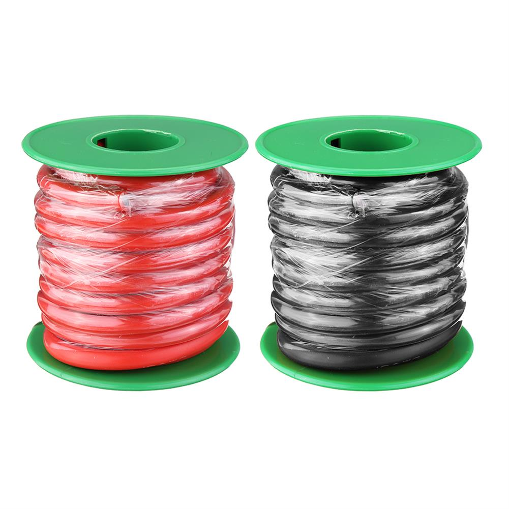 connector-cable-wire 4M 10AWG Soft Silicone Wire Cable High Temperature Tinned Copper RC1413928