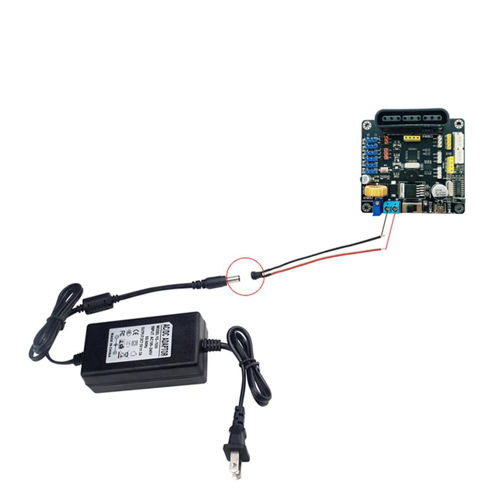 robot-parts-tools ZL-TECH DC 7.5V 3A 6A Power Adapter Power Supply For RC Robot Arm RC1414863 2