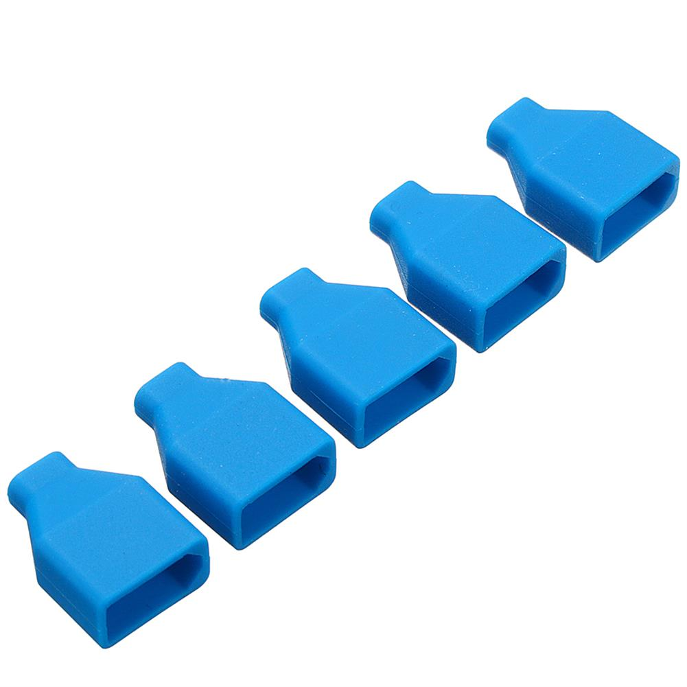 connector-cable-wire 5Pcs XT60 Plug Silicone Connector Protective Case For Lipo Battery RC1414866
