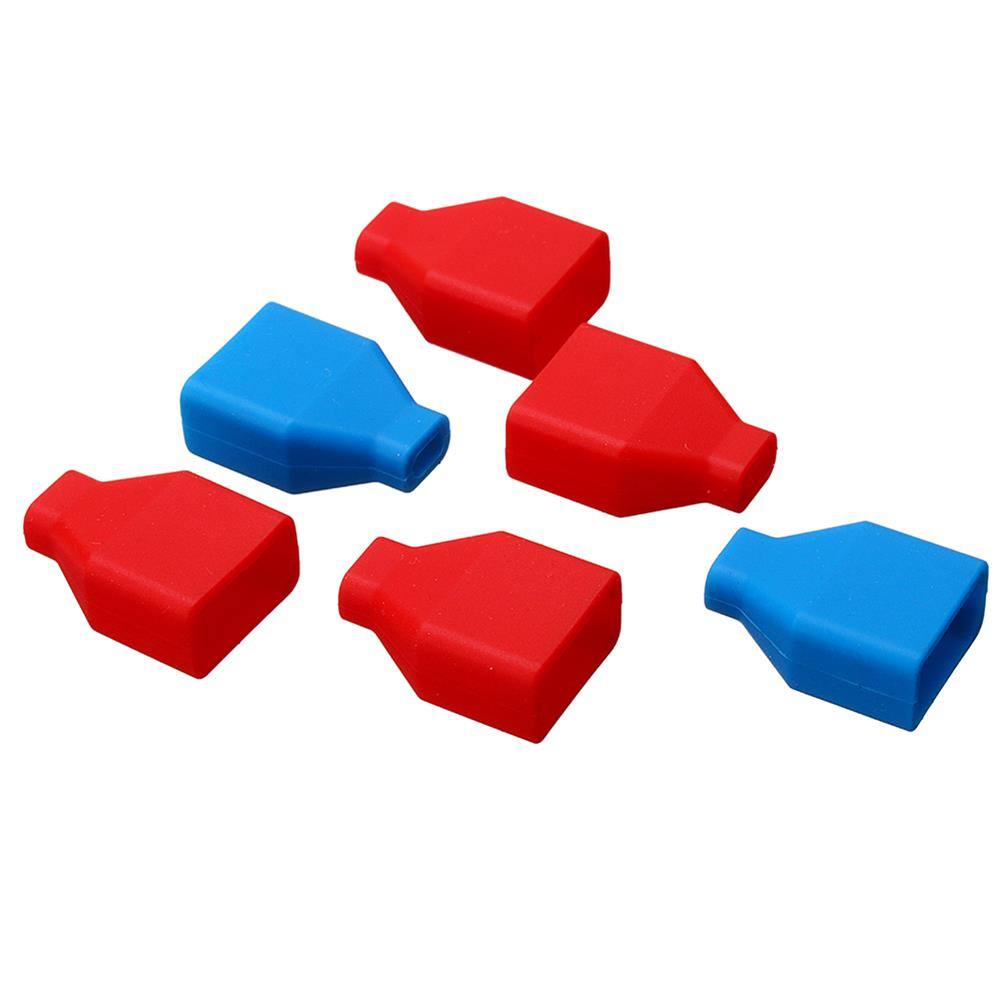 connector-cable-wire 5Pcs XT60 Plug Silicone Connector Protective Case For Lipo Battery RC1414866 3