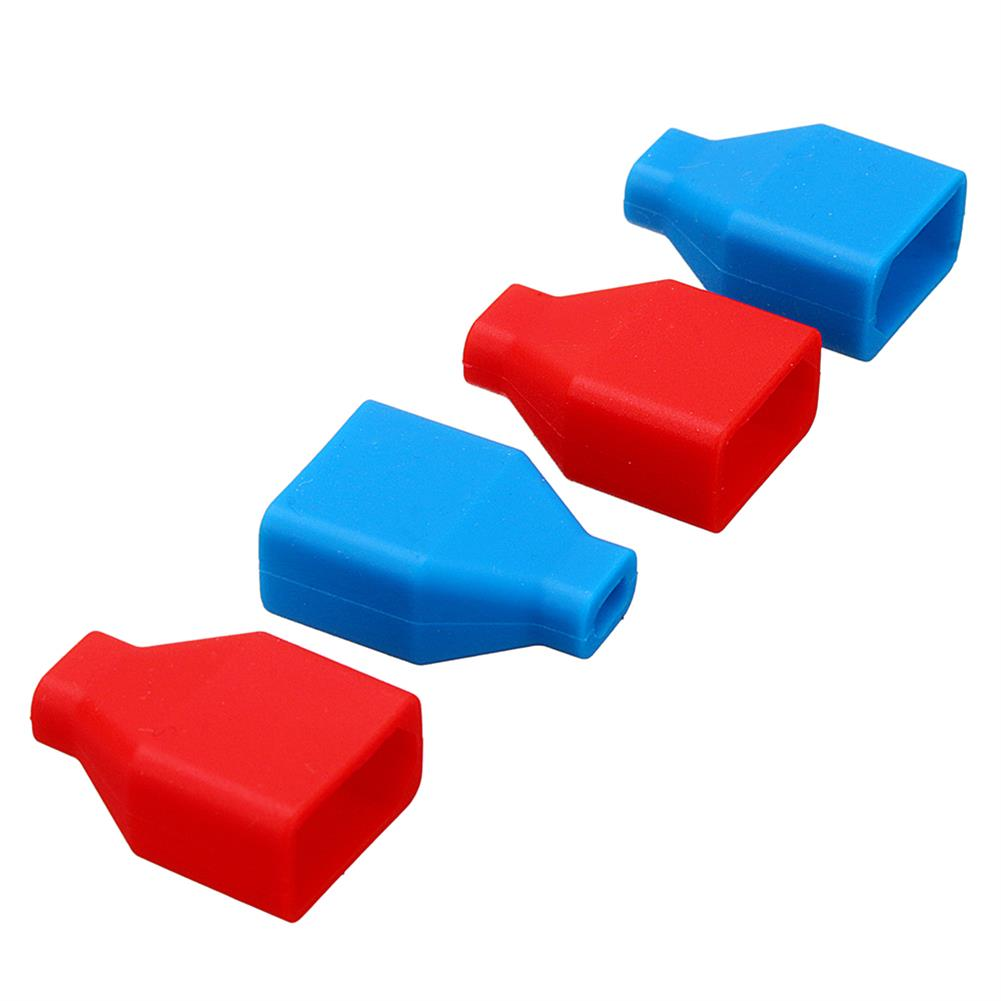 connector-cable-wire 5Pcs XT60 Plug Silicone Connector Protective Case For Lipo Battery RC1414866 4