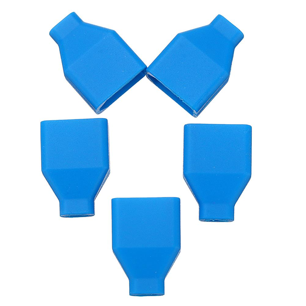 connector-cable-wire 5Pcs XT60 Plug Silicone Connector Protective Case For Lipo Battery RC1414866 5