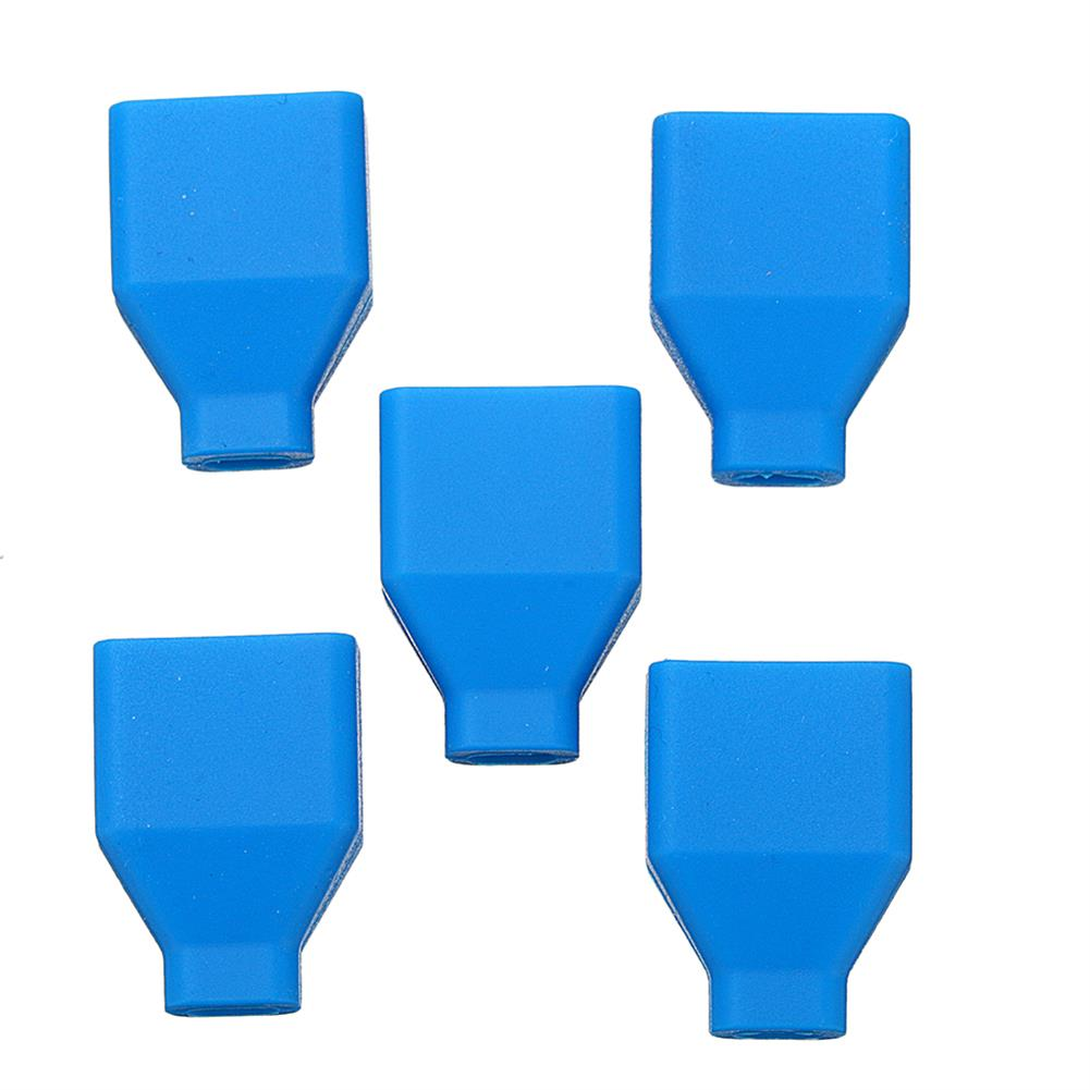 connector-cable-wire 5Pcs XT60 Plug Silicone Connector Protective Case For Lipo Battery RC1414866 6
