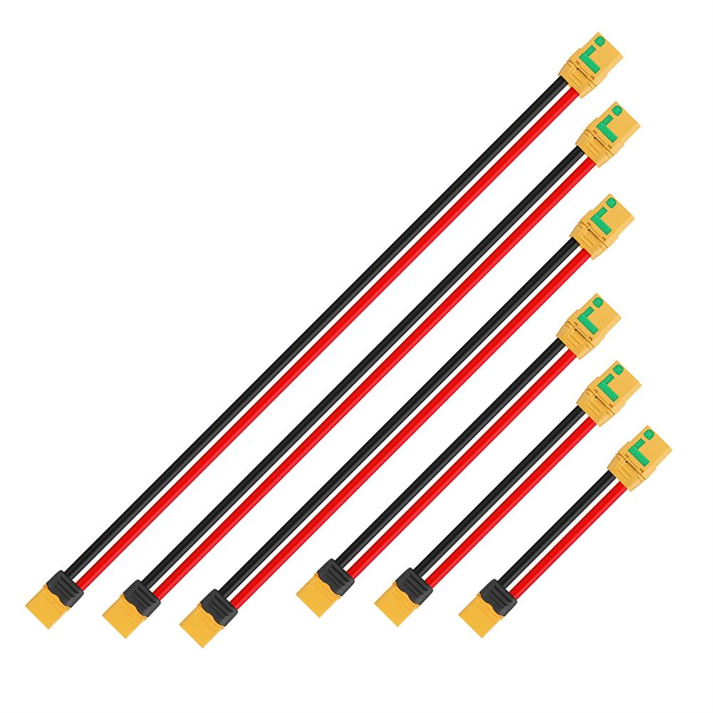 connector-cable-wire 10cm 10AWG XT90S to XT60 Plug Extension Charging Cable Wire RC1414871 1