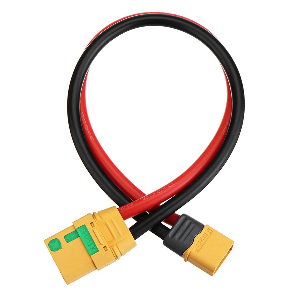 connector-cable-wire 10cm 10AWG XT90S to XT60 Plug Extension Charging Cable Wire RC1414871 6