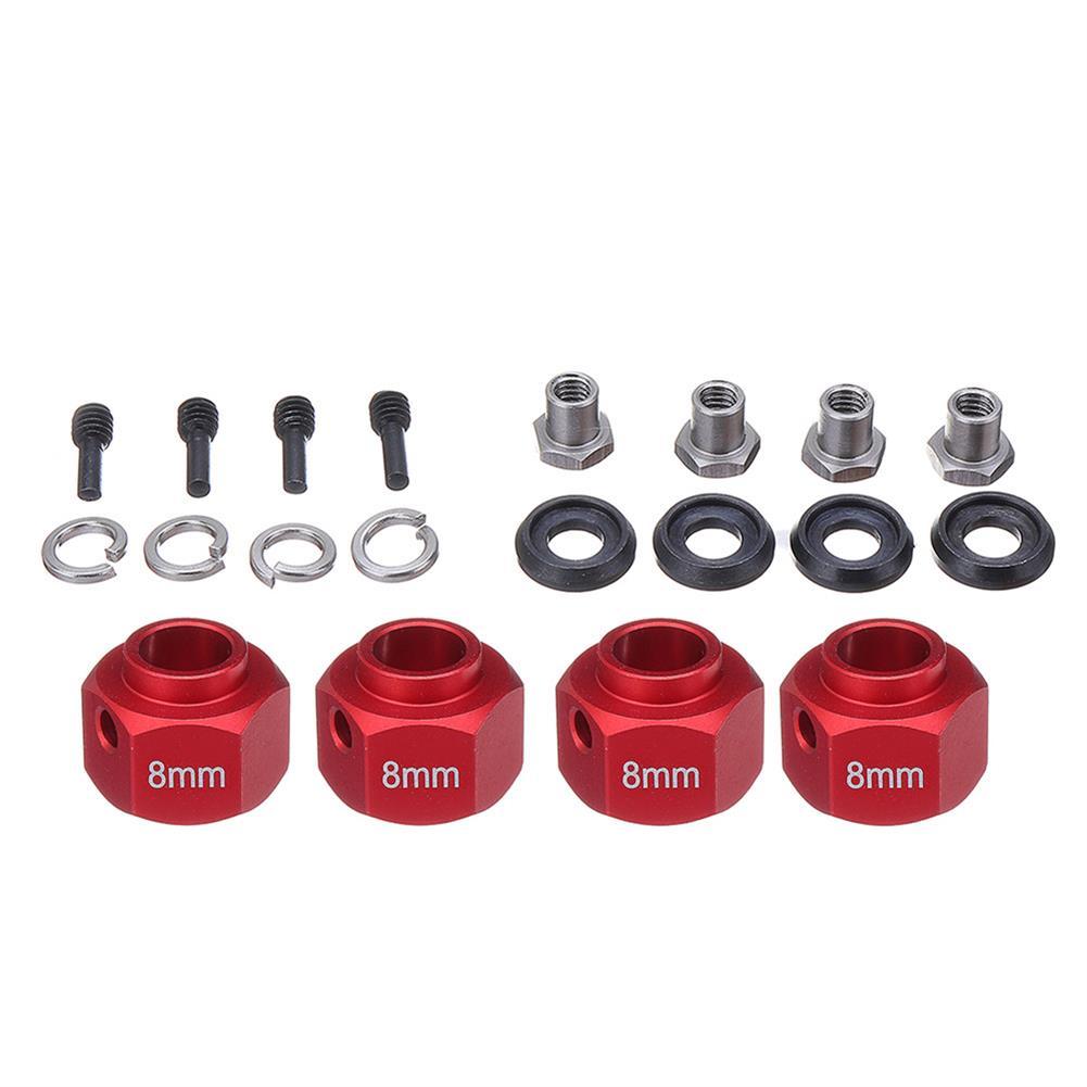 rc-car-parts 1 Set 8mm/9mm Widen Adapter Widening Kit for 1/10 RC Car TRAXXAS TRX-4 TRX4 Trucks Wheels RC1415148