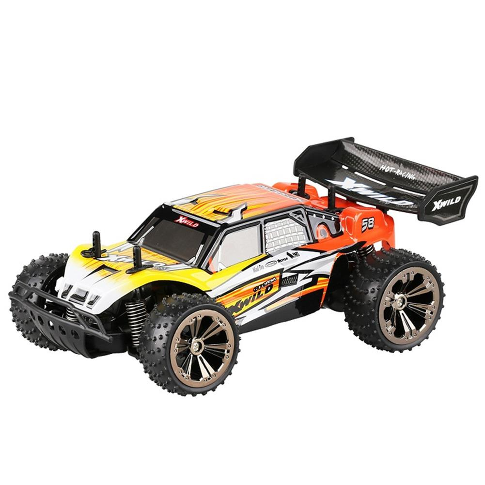 rc-cars Team X-wild 8822-ABCD 1/18 2.4G 2WD Rc Car Truggy Off-road Truck RTR Toy RC1416977 7