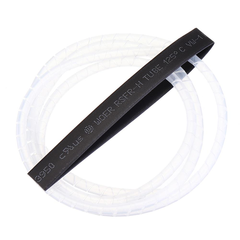 connector-cable-wire 1M RJXHOBBY Spiral Wire Wrap Tube Manage Cord for Outside Diameter 6-60MM Cable RC1417151 4