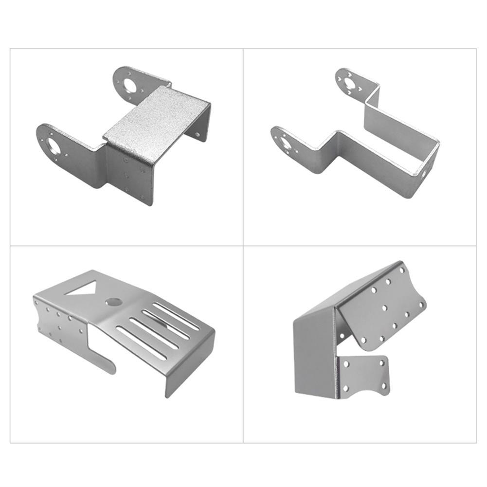 robot-parts-tools ZL-TECH DIY Model Metal Holder For RC Robot Arm Car RC1418819