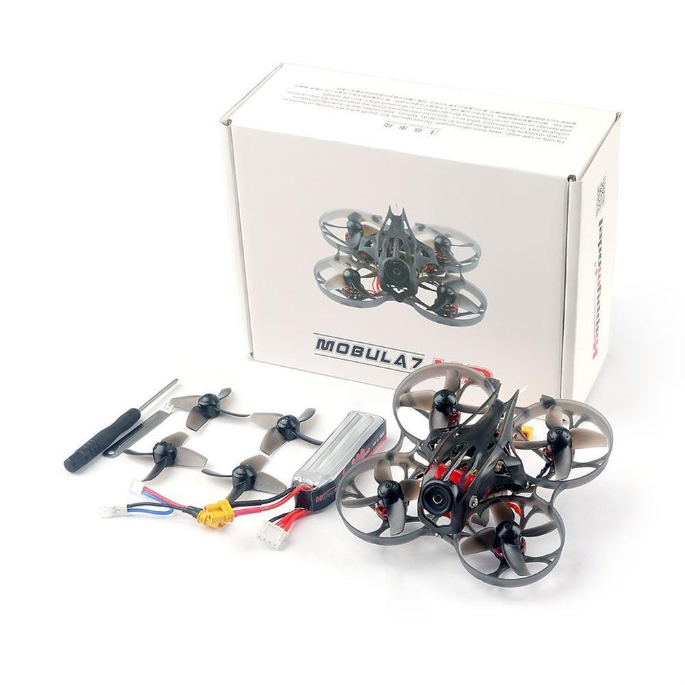 fpv-racing-drones Happymodel Mobula7 HD 2-3S 75mm Crazybee F4 Pro CineWhoop FPV Racing Drone PNP BNF w/ CADDX Turtle V2 HD Cam RC1418831 9