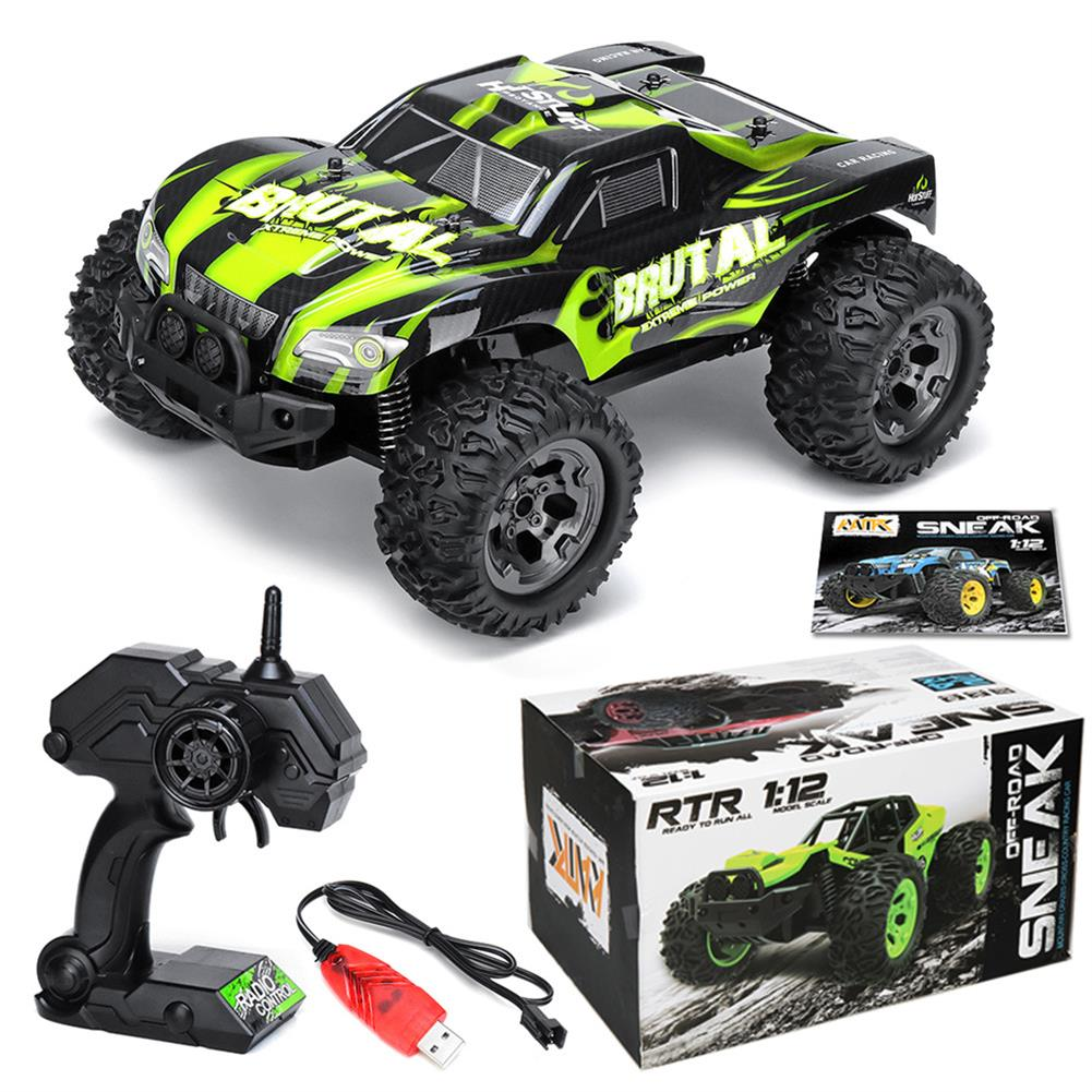 rc-cars 1/12 2WD High Speed Electric Monster Truck Off Road Vehicle RC Car Buggy RC1420158 1