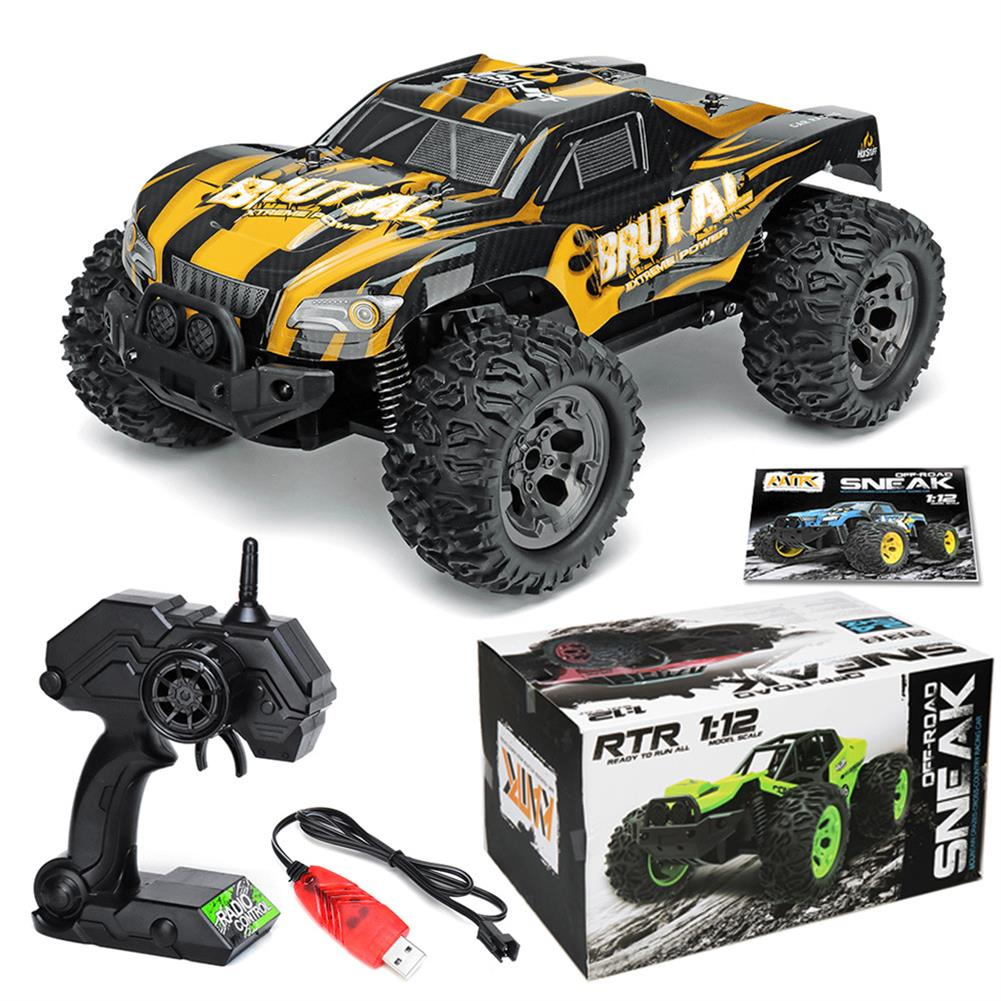rc-cars 1/12 2WD High Speed Electric Monster Truck Off Road Vehicle RC Car Buggy RC1420158 2