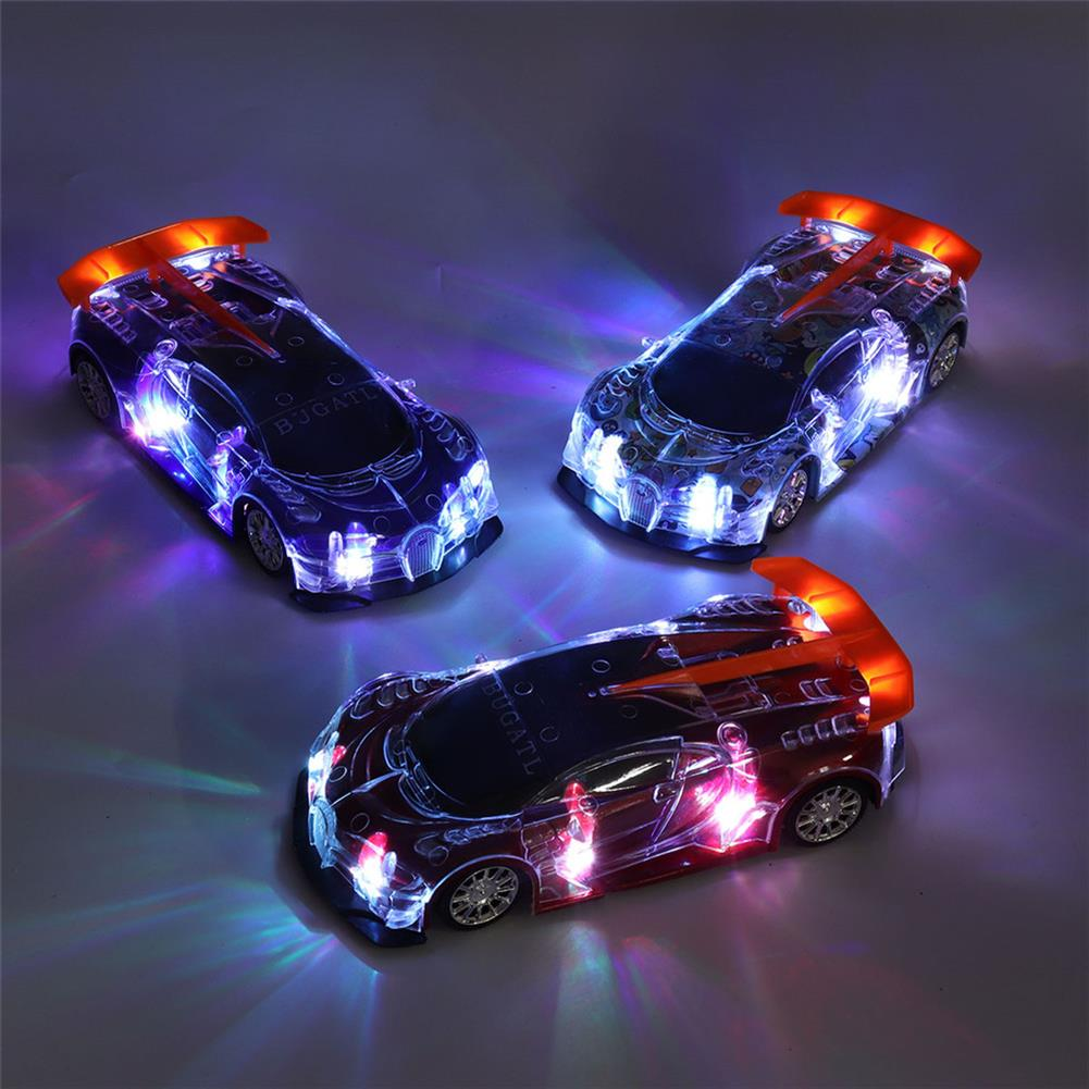 rc-cars 1PC Heshengyuan Toys 664-85 1/18 27MHZ 4CH Rc Car Simulation Colorful LED Lights without Battery RC1422801