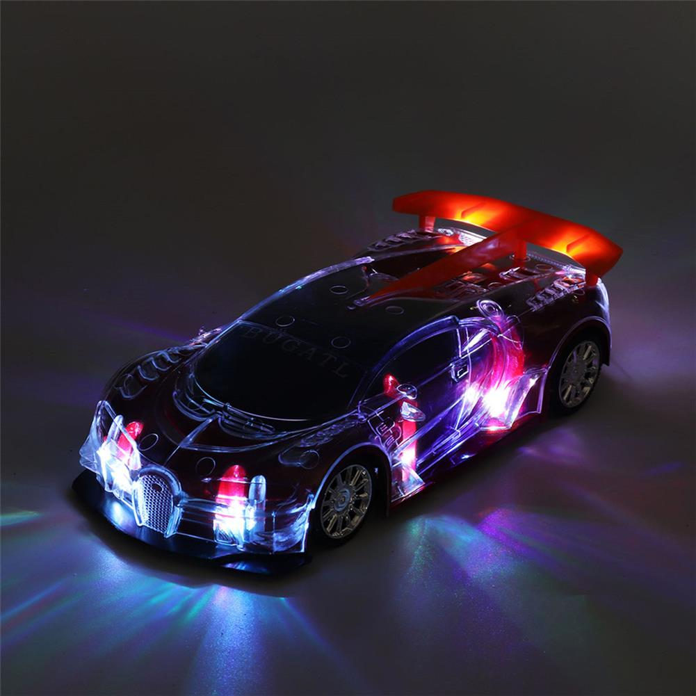 rc-cars 1PC Heshengyuan Toys 664-85 1/18 27MHZ 4CH Rc Car Simulation Colorful LED Lights without Battery RC1422801 1