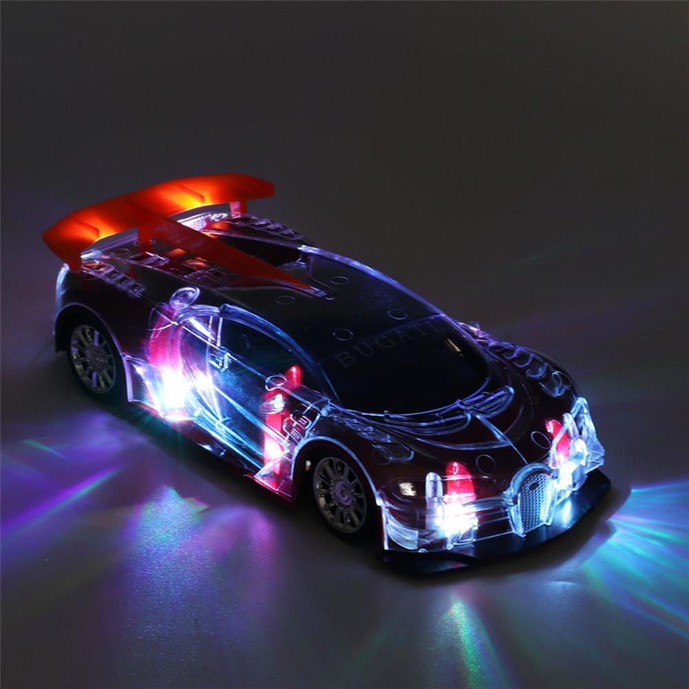 rc-cars 1PC Heshengyuan Toys 664-85 1/18 27MHZ 4CH Rc Car Simulation Colorful LED Lights without Battery RC1422801 2