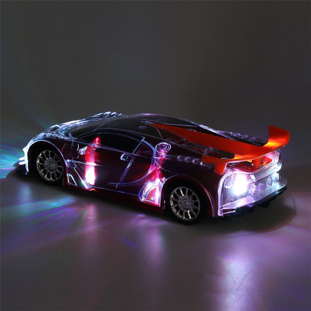 rc-cars 1PC Heshengyuan Toys 664-85 1/18 27MHZ 4CH Rc Car Simulation Colorful LED Lights without Battery RC1422801 3