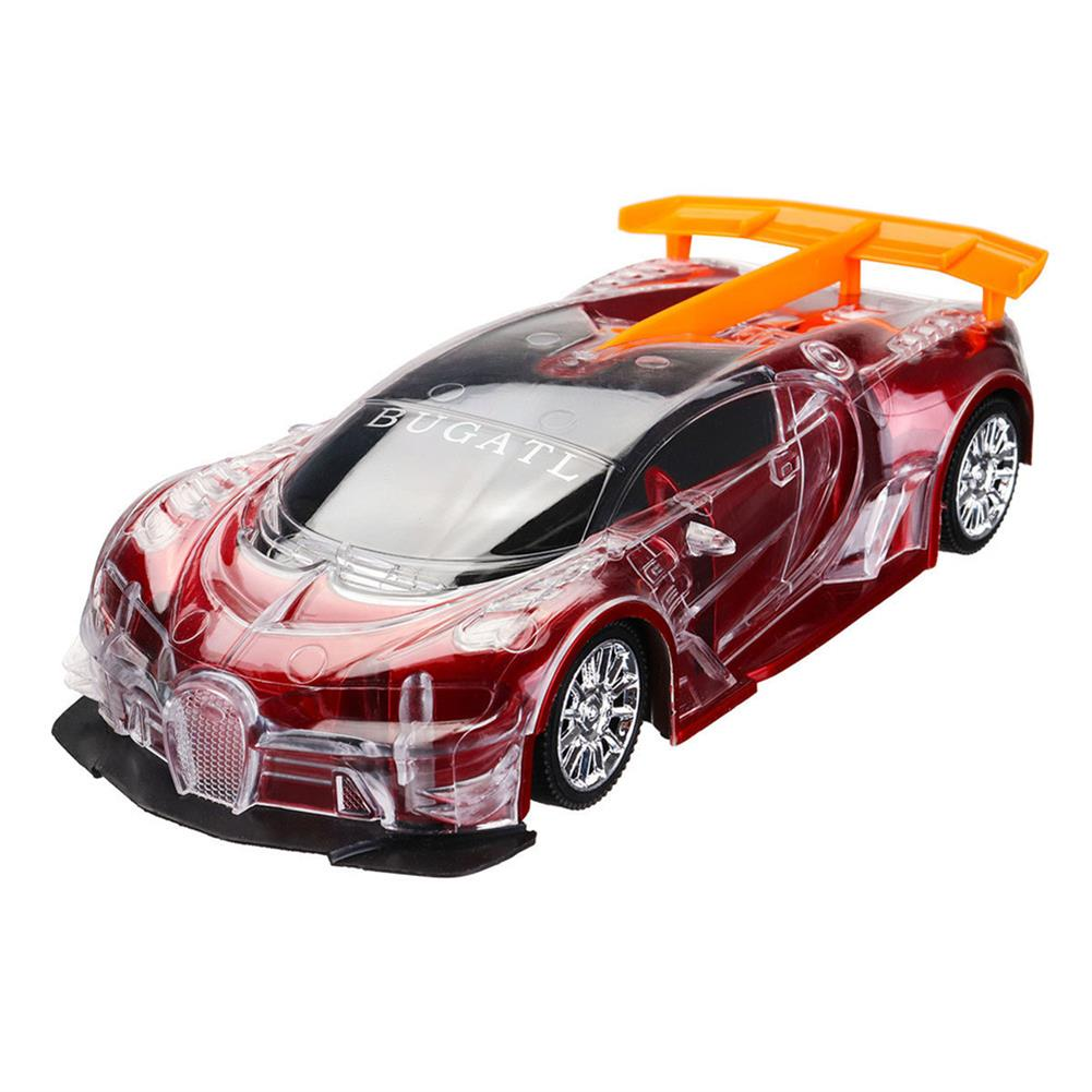 rc-cars 1PC Heshengyuan Toys 664-85 1/18 27MHZ 4CH Rc Car Simulation Colorful LED Lights without Battery RC1422801 6