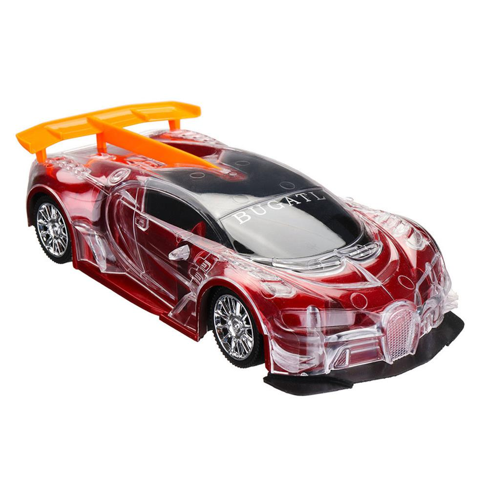 rc-cars 1PC Heshengyuan Toys 664-85 1/18 27MHZ 4CH Rc Car Simulation Colorful LED Lights without Battery RC1422801 7