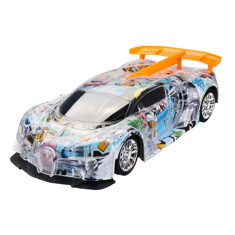 rc-cars 1PC Heshengyuan Toys 664-85 1/18 27MHZ 4CH Rc Car Simulation Colorful LED Lights without Battery RC1422801 8