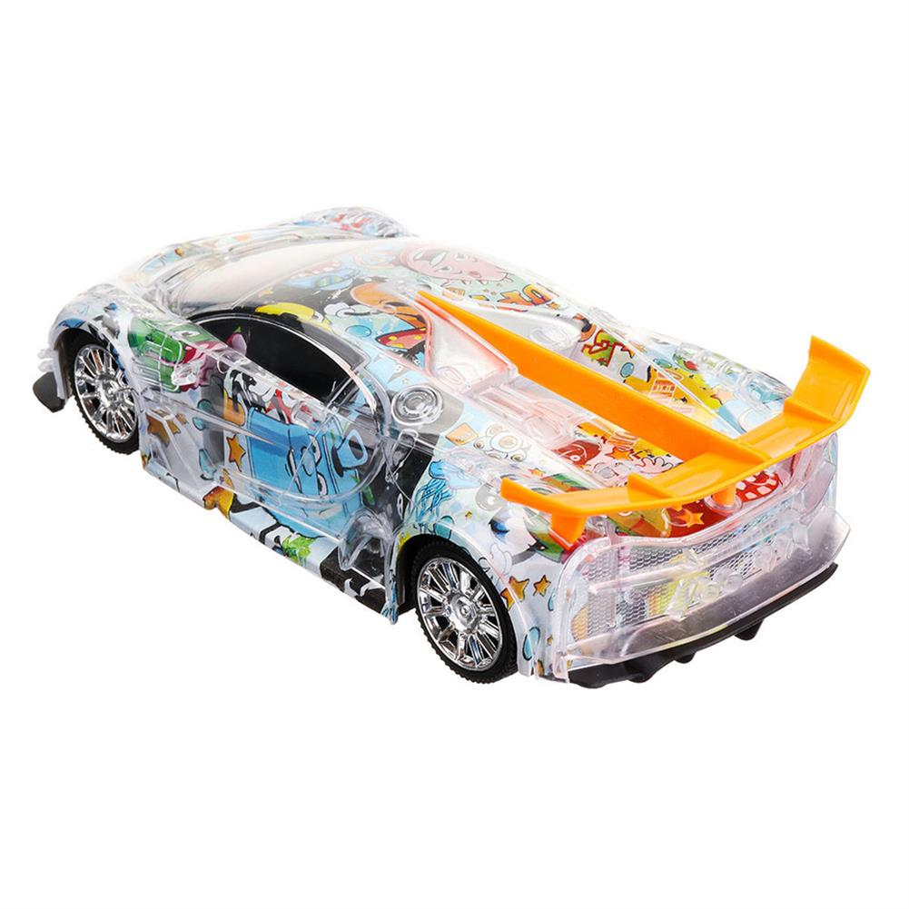 rc-cars 1PC Heshengyuan Toys 664-85 1/18 27MHZ 4CH Rc Car Simulation Colorful LED Lights without Battery RC1422801 9