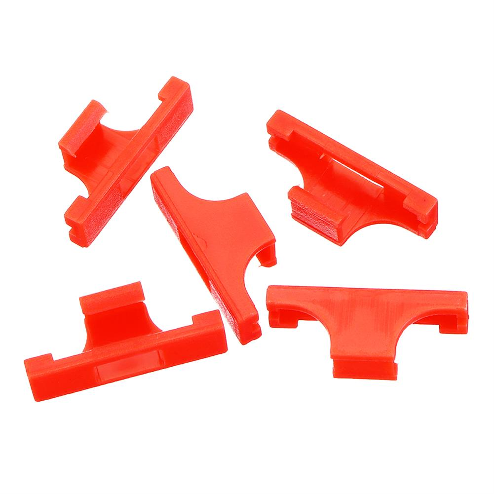connector-cable-wire 5Pcs Servo Extension Cable Card Head Non-slip Anti-loose Chuck Y-type Connection Line Fixing Seat Holder RC1422813 4