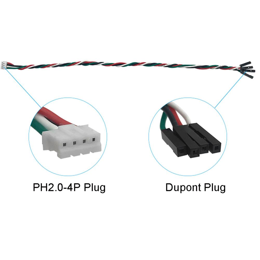 connector-cable-wire TL-TECH PH2.0-4P To Dupont Wire Line Cable For Arduino Sensor Connection 20cm/30cm RC1422899 1