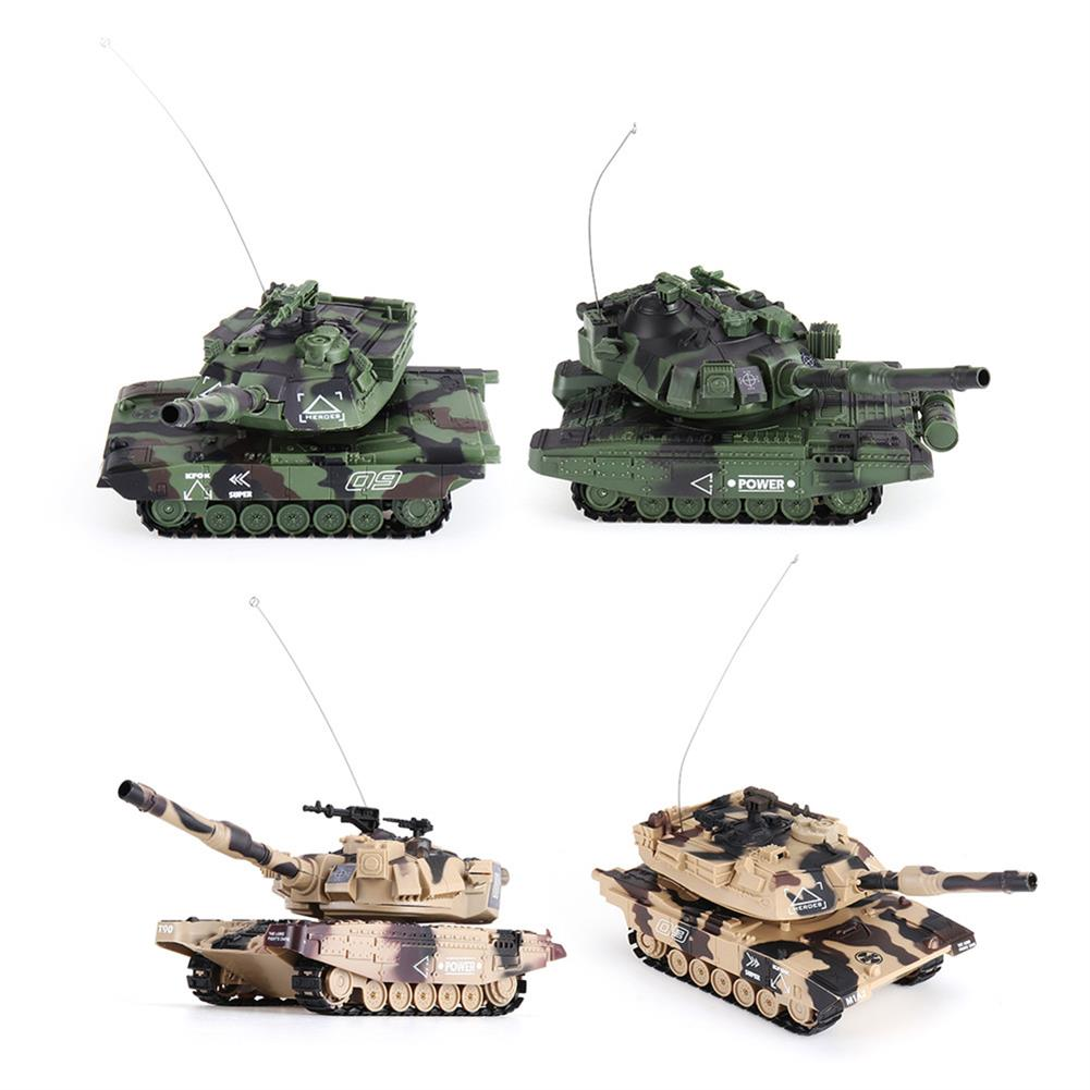 rc-tank DAFENG 1014/15/16/17 T90 M1A2 1/32 27MHZ Rc Car Silmulation Battle Tank w/ Engine & Cannon Sound RC1424119