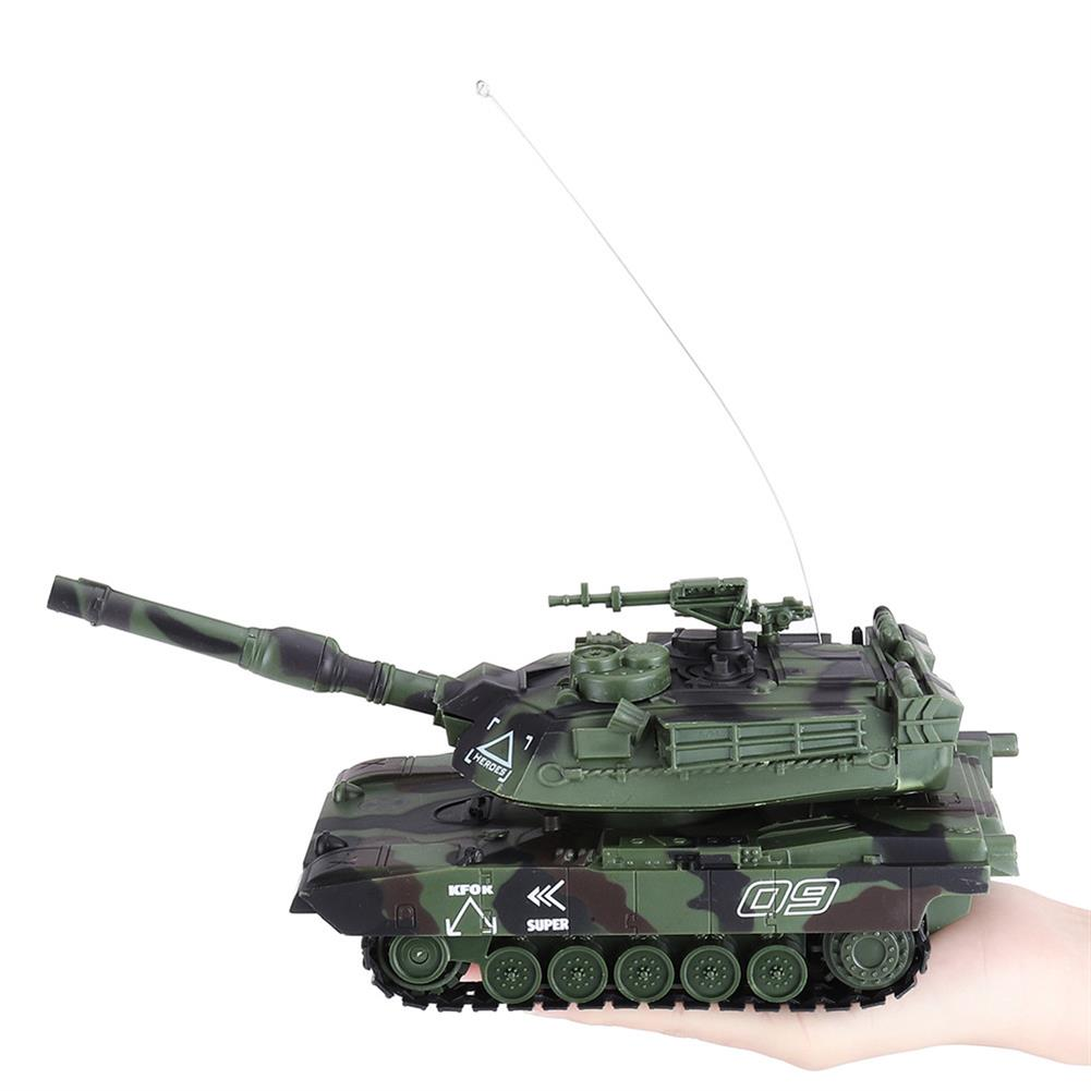rc-tank DAFENG 1014/15/16/17 T90 M1A2 1/32 27MHZ Rc Car Silmulation Battle Tank w/ Engine & Cannon Sound RC1424119 2