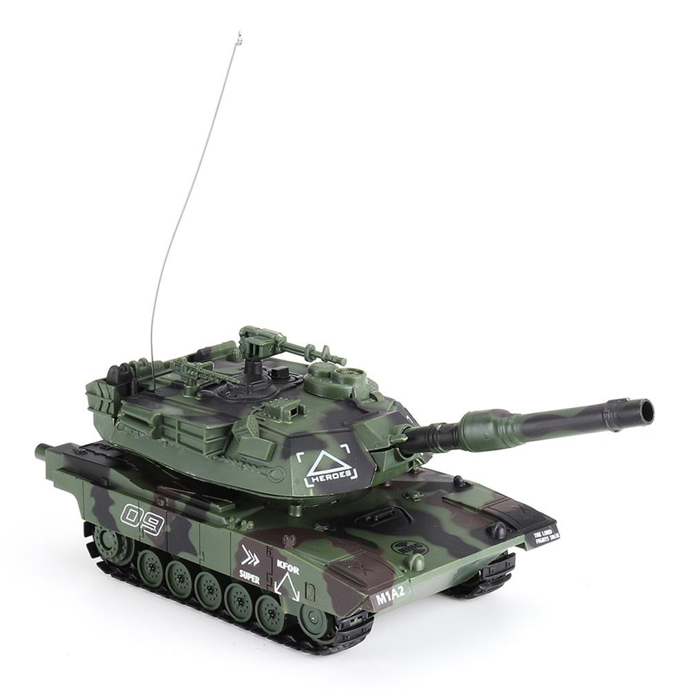 rc-tank DAFENG 1014/15/16/17 T90 M1A2 1/32 27MHZ Rc Car Silmulation Battle Tank w/ Engine & Cannon Sound RC1424119 5