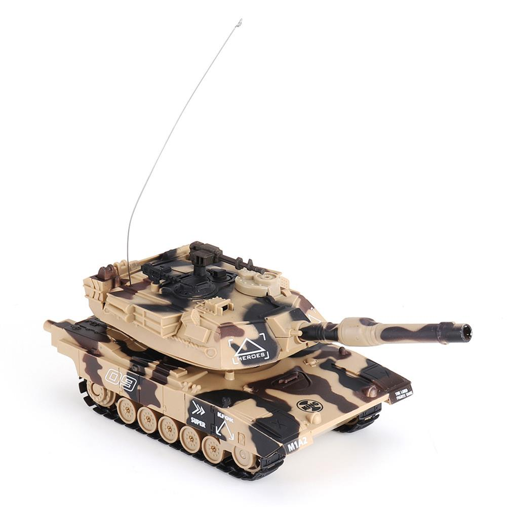 rc-tank DAFENG 1014/15/16/17 T90 M1A2 1/32 27MHZ Rc Car Silmulation Battle Tank w/ Engine & Cannon Sound RC1424119 6