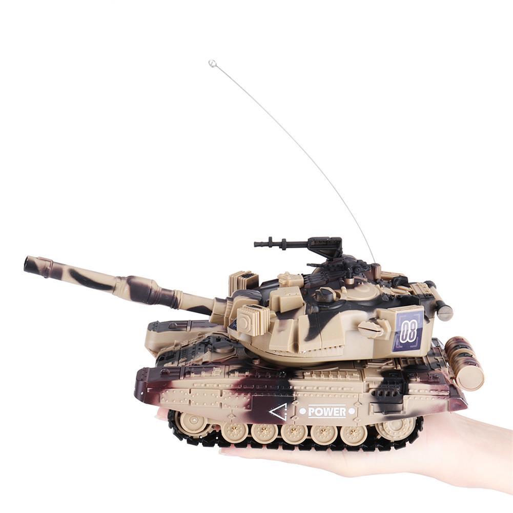 rc-tank DAFENG 1014/15/16/17 T90 M1A2 1/32 27MHZ Rc Car Silmulation Battle Tank w/ Engine & Cannon Sound RC1424119 7