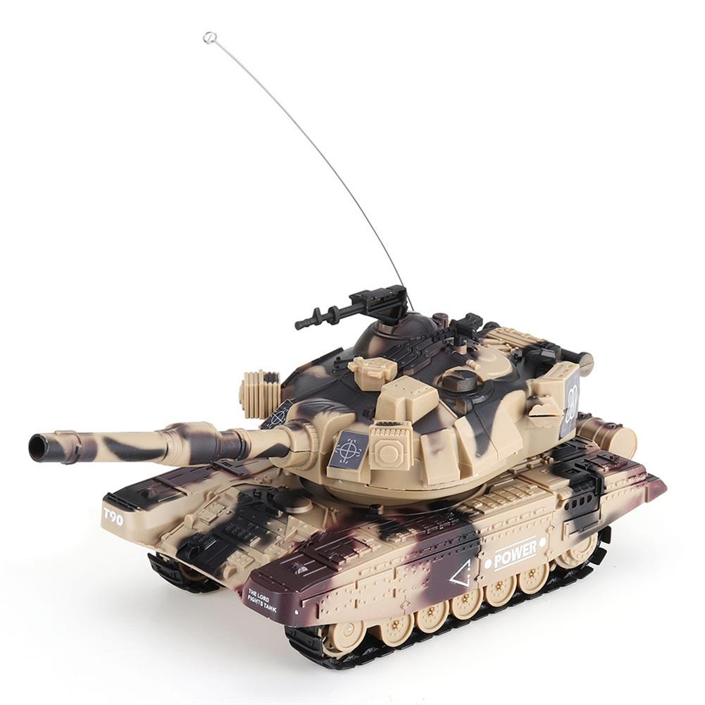 rc-tank DAFENG 1014/15/16/17 T90 M1A2 1/32 27MHZ Rc Car Silmulation Battle Tank w/ Engine & Cannon Sound RC1424119 9