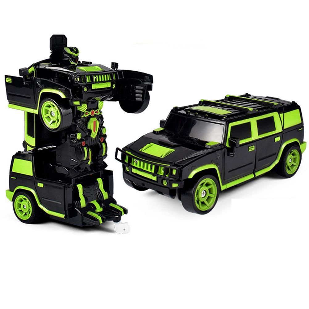 rc-cars 1/18 2 In 1 Rc Car Sports Wireless Transformation Robot Models Deformation Fighting Toys RC1425700 1
