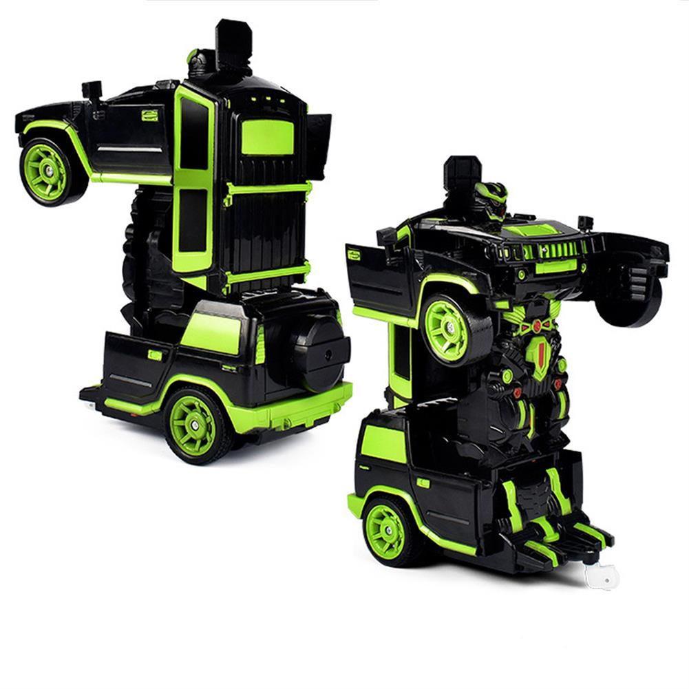 rc-cars 1/18 2 In 1 Rc Car Sports Wireless Transformation Robot Models Deformation Fighting Toys RC1425700 2
