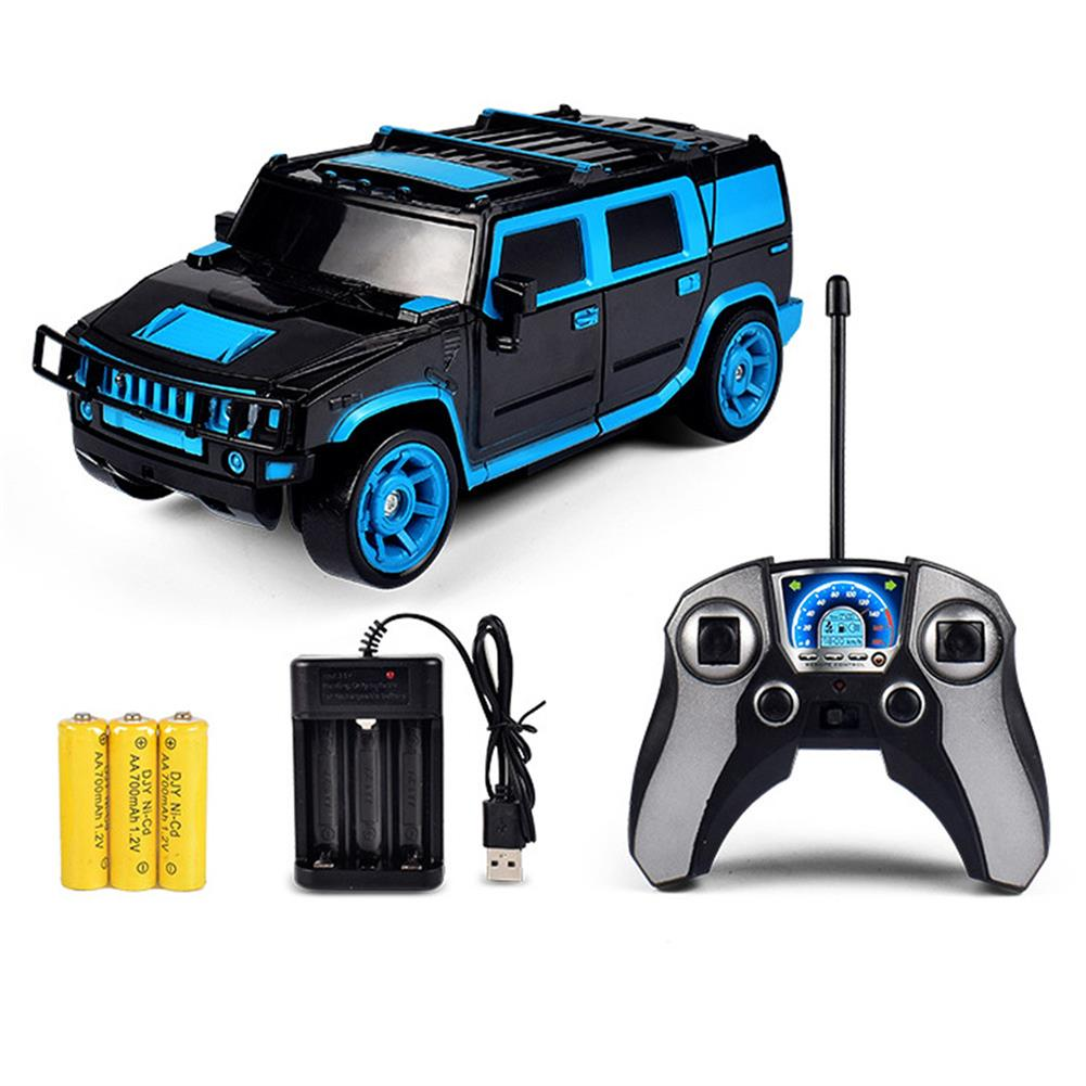 rc-cars 1/18 2 In 1 Rc Car Sports Wireless Transformation Robot Models Deformation Fighting Toys RC1425700 3