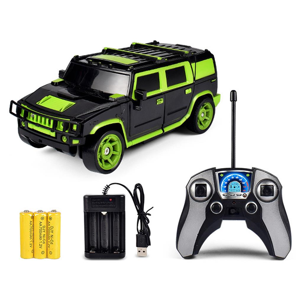 rc-cars 1/18 2 In 1 Rc Car Sports Wireless Transformation Robot Models Deformation Fighting Toys RC1425700 4