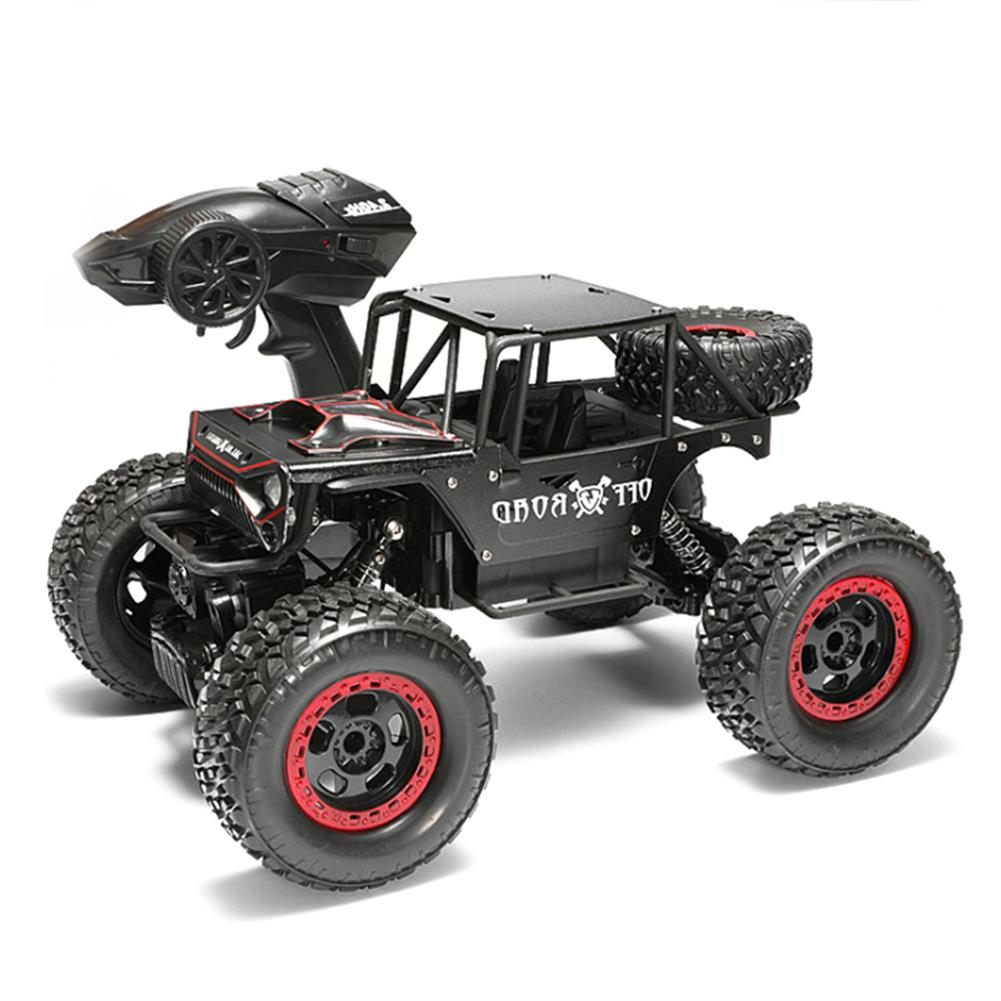 rc-cars 1/14 4WD 2.4G RC Cars Alloy Speed RC Car Toys With LED Head Light 3 Motors RC1426120 2