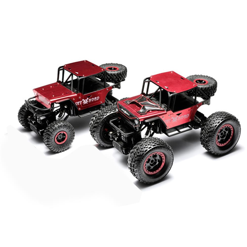rc-cars 1/14 4WD 2.4G RC Cars Alloy Speed RC Car Toys With LED Head Light 3 Motors RC1426120 3