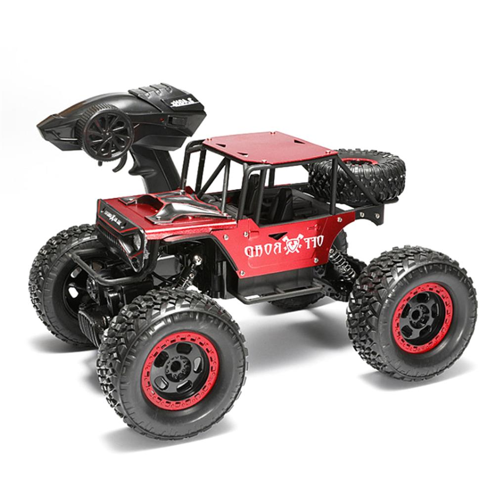 rc-car 1/18 4WD 2.4G RC Cars Alloy Speed RC Car Toys With LED Head Light 3 Motors RC1426693
