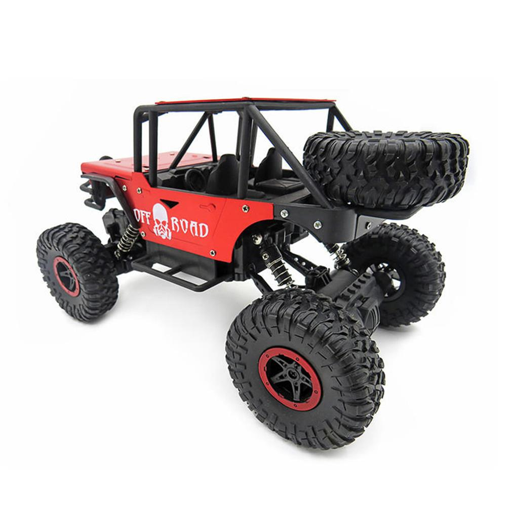 rc-cars 1/18 4WD 2.4G RC Cars Alloy Speed RC Car Toys With LED Head Light 3 Motors RC1426693 2