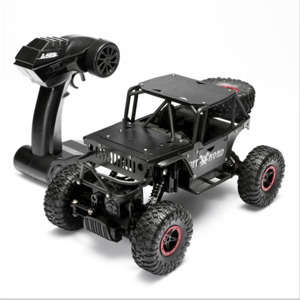 rc-cars 1/18 4WD 2.4G RC Cars Alloy Speed RC Car Toys With LED Head Light 3 Motors RC1426693 9