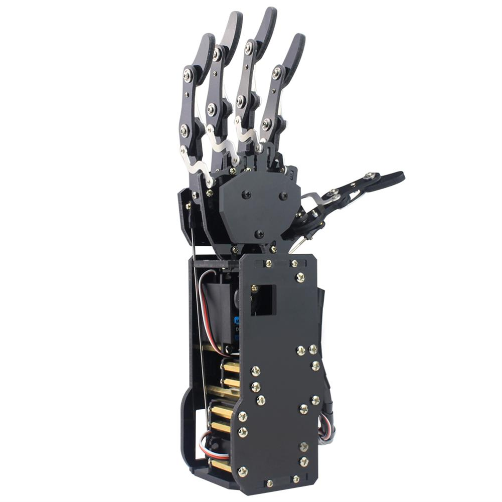 robot-arm-tank LOBOT uHand Open Source RC Robot Arm Right Hand / Left Hand For STM32 RC1427019
