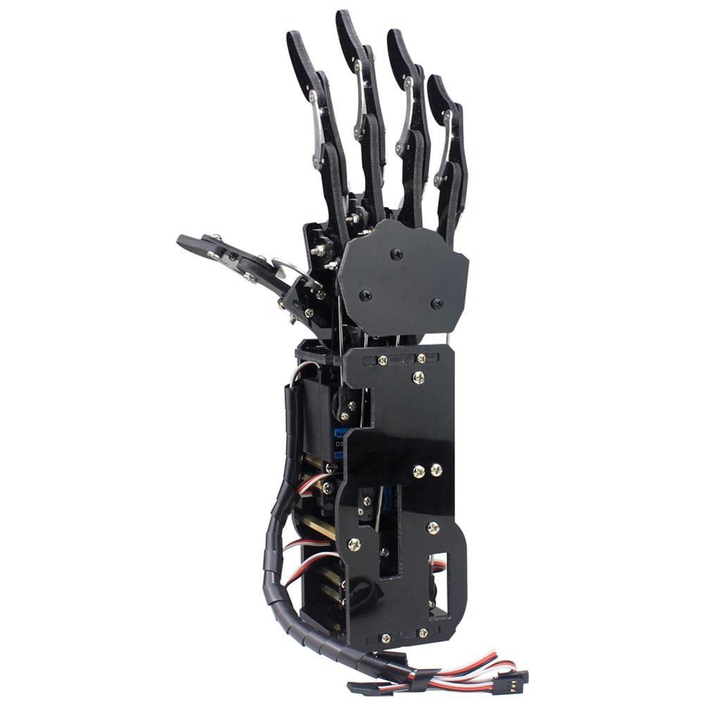 robot-arm-tank LOBOT uHand Open Source RC Robot Arm Right Hand / Left Hand For STM32 RC1427019 1
