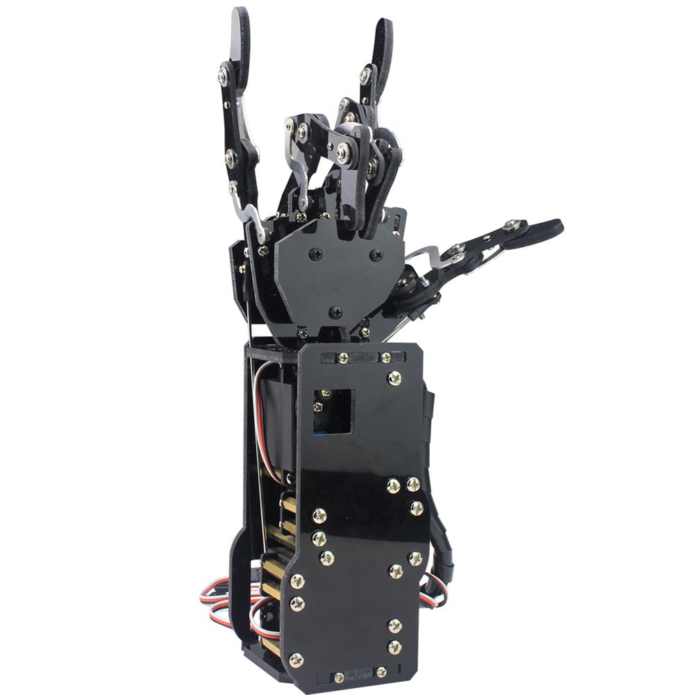 robot-arm-tank LOBOT uHand Open Source RC Robot Arm Right Hand / Left Hand For STM32 RC1427019 3