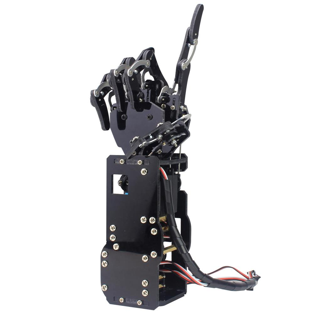 robot-arm-tank LOBOT uHand Open Source RC Robot Arm Right Hand / Left Hand For STM32 RC1427019 4