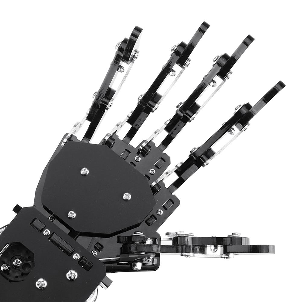 robot-arm-tank LOBOT uHand Open Source RC Robot Arm Right Hand / Left Hand For STM32 RC1427019 5