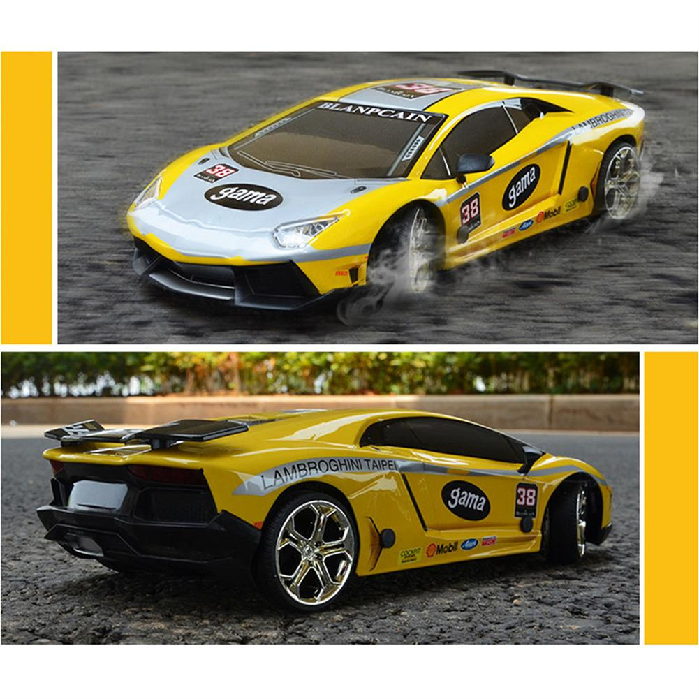 rc-cars JHL 1/16 2.4G 4WD Drift Rc Car Titanium Alloy Shell with LED Light Racing Toys RC1427384 5