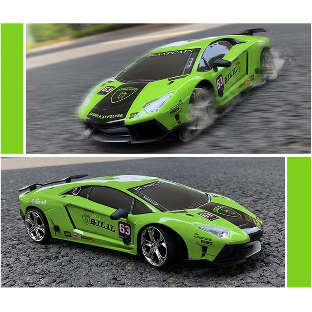 rc-cars JHL 1/16 2.4G 4WD Drift Rc Car Titanium Alloy Shell with LED Light Racing Toys RC1427384 6